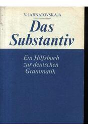 Das Substantiv - Régikönyvek