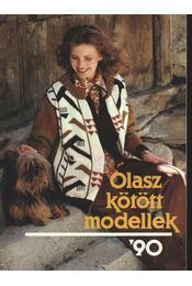 Olasz kötött modellek '90 - Régikönyvek