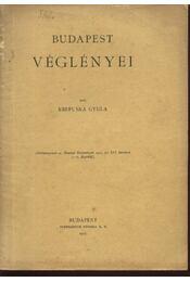 Budapest véglényei - Régikönyvek