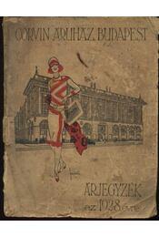 Corvin Áruház Budapest - Régikönyvek