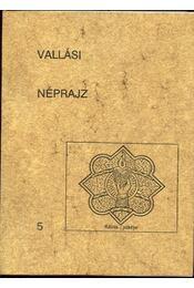 Vallási néprajz - 5 - Régikönyvek