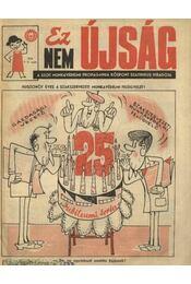 Ez Nem Újság 1975. 1-2. szám - Régikönyvek