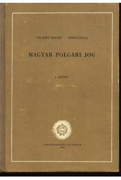 Magyar polgári jog I-II. - Régikönyvek
