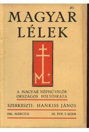 Magyar Lélek 1941. március - Régikönyvek