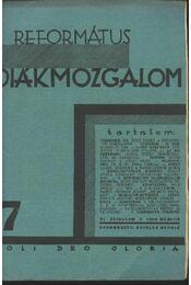 Református Diákmozgalom 1930. március - Régikönyvek
