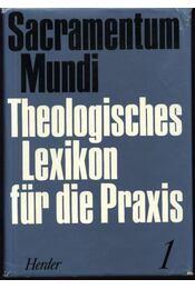 Theologisches lexikon für die Praxis I-IV. Band (A-Z) - Régikönyvek