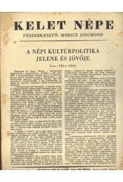 Kelet népe - VII. évfolyam 10. szám - Régikönyvek