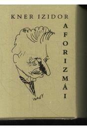 Kner Izidor aforizmái I.-II.kötet (mini) - Régikönyvek