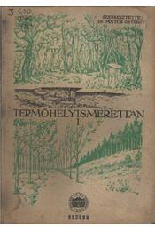Termőhelyismerettan I. - Régikönyvek