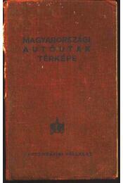 Magyarországi autóutak térképe (1956) - Régikönyvek