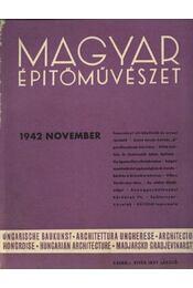 Magyar Építőművészet 1942. november - Régikönyvek