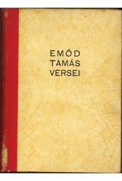 Emőd Tamás versei - Régikönyvek
