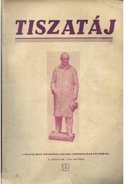 Tiszatáj 1956.október X.évfolyam 5. - Régikönyvek