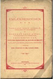 Emlékbeszédek - Régikönyvek