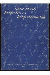 Kékfestés és kékfestőminták - Régikönyvek