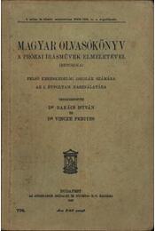Magyar olvasókönyv a prózai írásművek elméletével (Retorika) - Régikönyvek