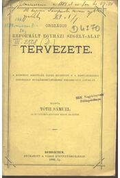 Országos Reformált Egyházi Segély-Alap Tervezete - Régikönyvek