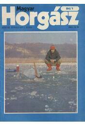 Magyar Horgász 1984. január-december - Régikönyvek