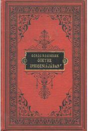 Görög régiségek Goethe Iphigeniájában - Régikönyvek
