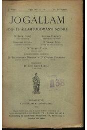 Jogállam - Régikönyvek