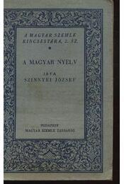 A magyar nyelv - Régikönyvek