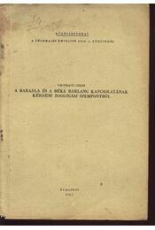 A Baradla és Béke barlang kapcsolatának kérédse zoológiai szempontból - Régikönyvek