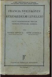 Francia nyelvkönyv és kereskedelmi levelező - Régikönyvek