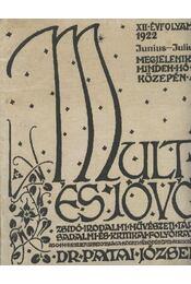 Múlt és jövő 1922. június-július, XII. évf. - Régikönyvek