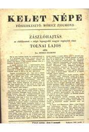 Kelet népe - VII. évfolyam, 1. szám - Régikönyvek