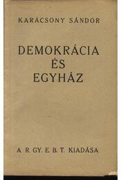 Demokrácia és egyház - Régikönyvek
