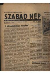 Szabad Nép 1956. április - Régikönyvek