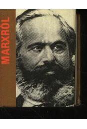 Marxról (mini) - Régikönyvek