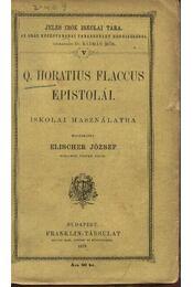 Q. Horatius Flaccus epistolái - Régikönyvek