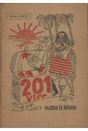 201 vicc rajzban és írásban - Régikönyvek
