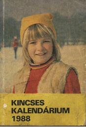 Kincses kalendárium 1988 - Régikönyvek