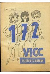 172 vicc rajzban és írásban - Régikönyvek