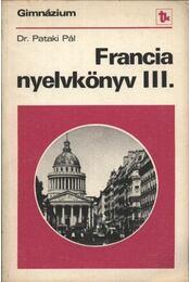 Francia nyelvkönyv III. - Régikönyvek