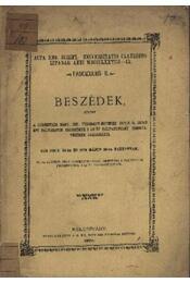 Beszédek - Régikönyvek