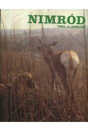 Nimród 1984. évfolyam (teljes) - számonként - Régikönyvek