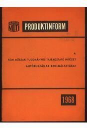 A KGM Műszaki Tudományos Tájékoztató Intézet autóbuszának szolgáltatásai - Régikönyvek