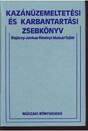 Kazánüzemeltetési és karbantartási zsebkönyv - Régikönyvek