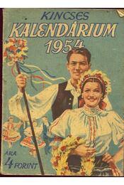 Kincses kalendárium 1954 - Régikönyvek