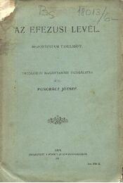 Az Efezusi levél - Régikönyvek