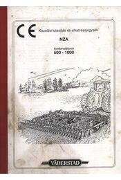 Kezelési utasítás és alkatrészjegyzék - Régikönyvek