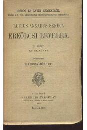 Erkölcsi levelek II. kötet - Régikönyvek