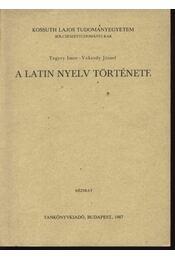 A latin nyelv története - Régikönyvek
