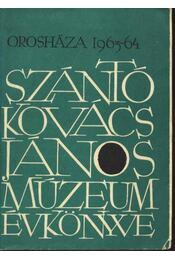 A Szántó Kovács János Múzeum Évkönyve 1963-64 - Régikönyvek