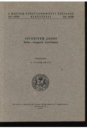 Sylvester János latin-magyar nyelvtana - Régikönyvek