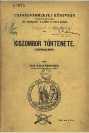 Kiszombor története - Régikönyvek