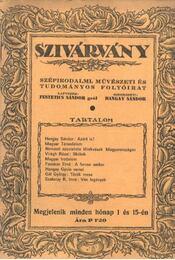 Szivárvány - VII. évfolyam, 10-11. szám - Régikönyvek